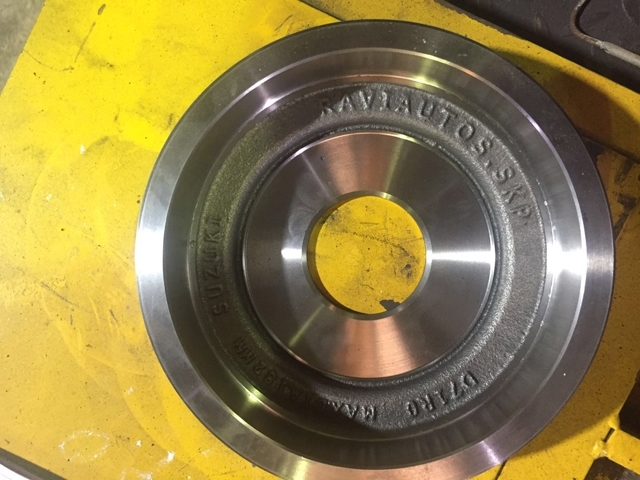 轮毂造型铸件效果