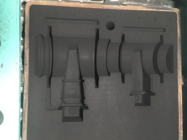 管件造型砂型效果