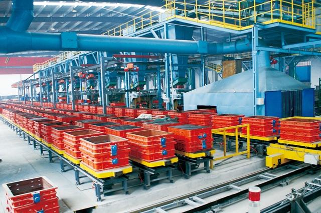 江苏开式机械化造型线